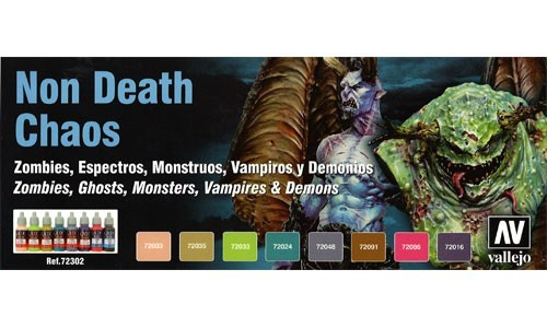Non Death Chaos - Vallejo Model Color - Farbset VAL72302