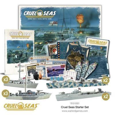 Cruel Seas Starter Set - Cruel Seas - Warlord Games