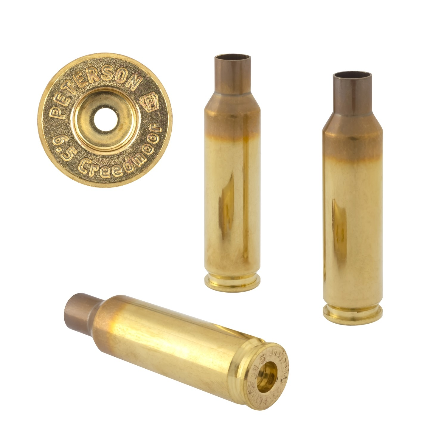 Peterson 6.5 Creedmoor Fat Select - Box of 50 Brass Rifle Casings