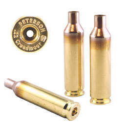 Peterson .22 Creedmoor Select - Box of 50 Brass Rifle Casings