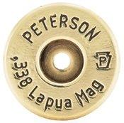 .338 Lapua Magnum Brass Cartridge - Box of 50