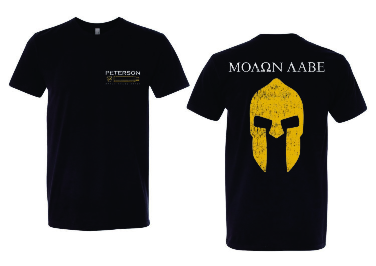 Molon Labe - Peterson Cartridge T-Shirt