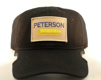 Peterson Cartridge Notch Black Operators Hat