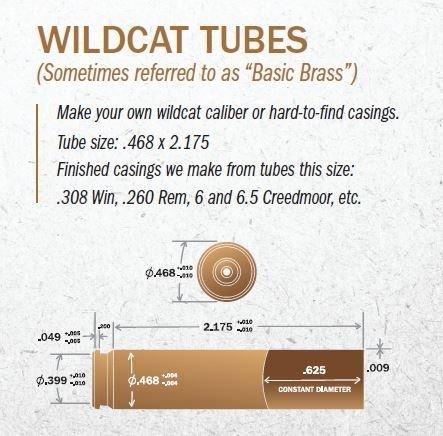 .468 x 2.175 - Wildcat Tubes - Box of 50