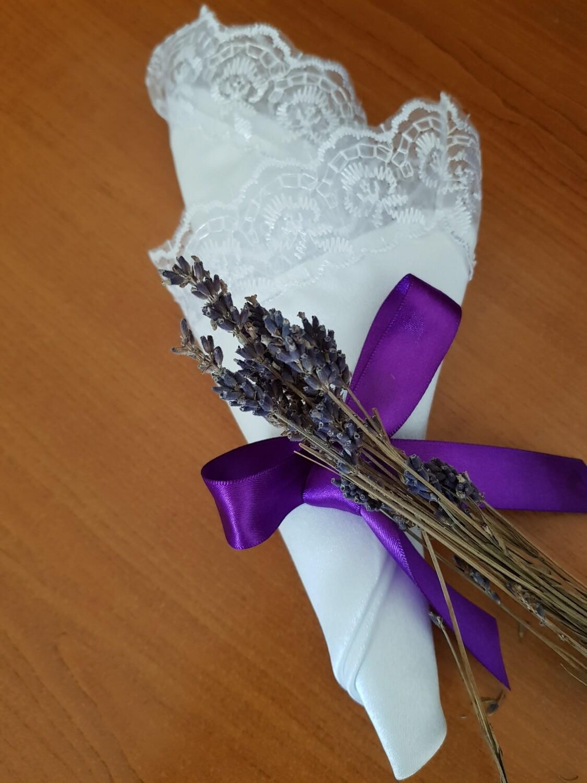 Servet brocart si dantela pentru evenimente festive