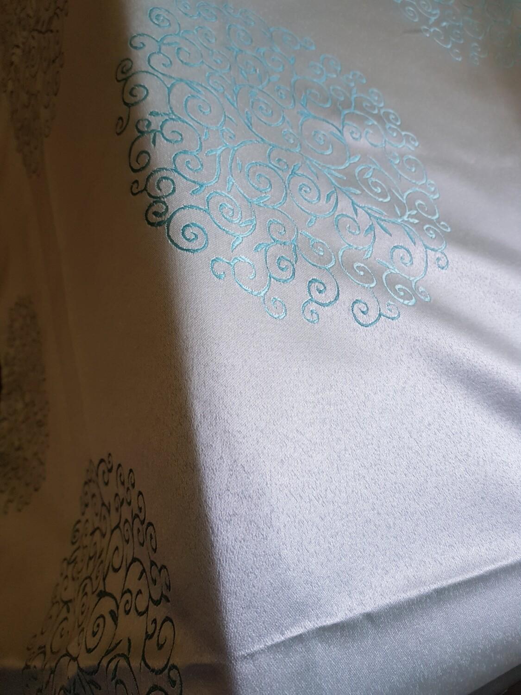"Fata masa 150x225 cm, brocart verde ""Tiffany"""