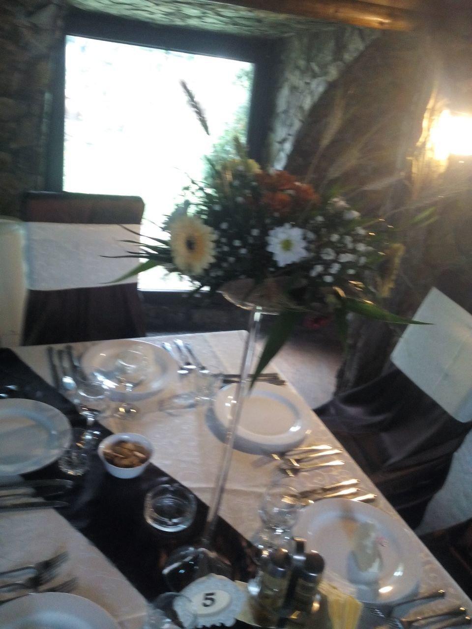 Vaza sticla tip martini