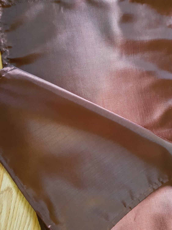 Napron 35x200cm, tafta maro