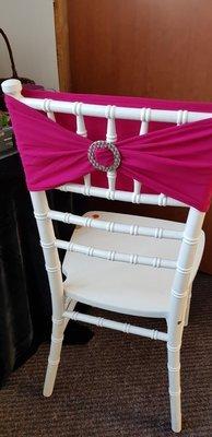 Esarfe elastice culoarea roz fucsia
