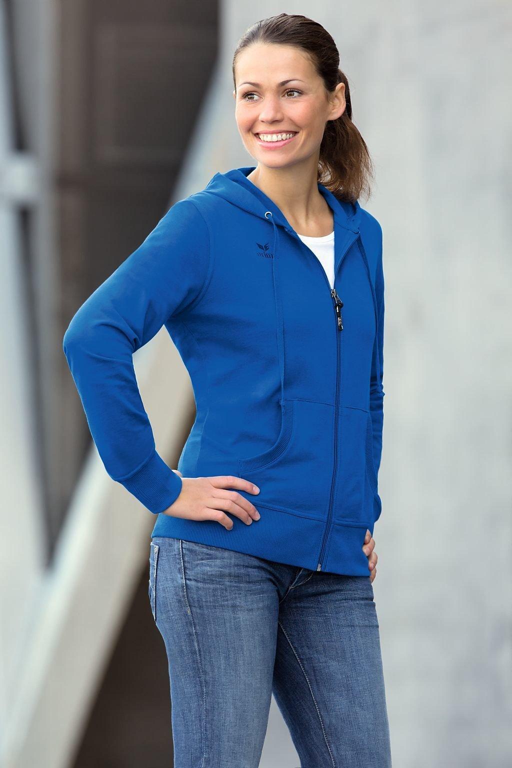 Hooded Jacket Kapuzen Sweatjacke Damen Baumwolle a207001