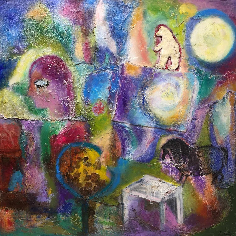 Mariana Acuña - Mujer y Luna