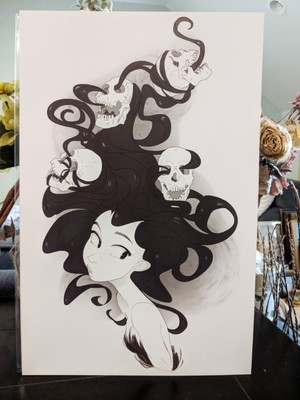 11x17 Print: Hairifying