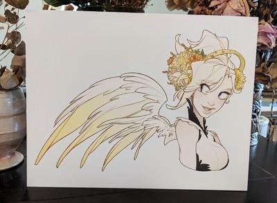 11x17 Print: Mercy