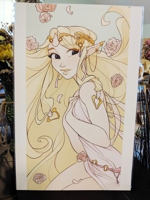 11x17 Print: Zelda