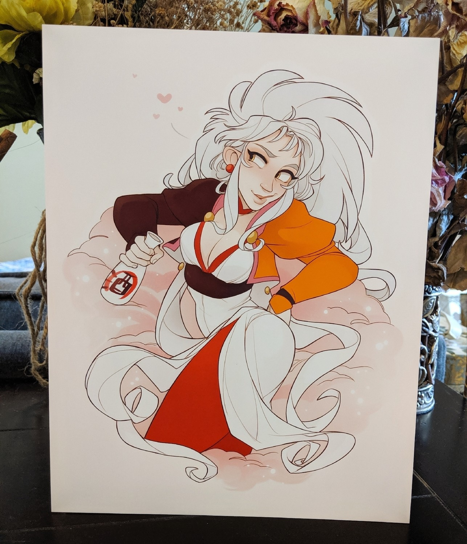 8x11 Print: Ryoko