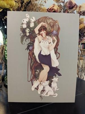 8x11 Print: San