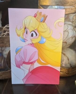 4x6 Print: Peachy