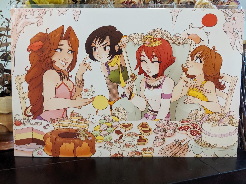Kairi's Pastry Party (11x17)