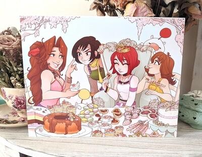 Kairi's Pastry Party (8.5x11)