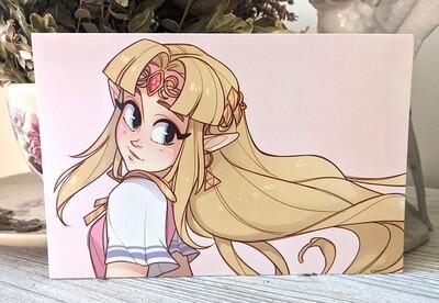 Zelda (SSBU) (4x6)