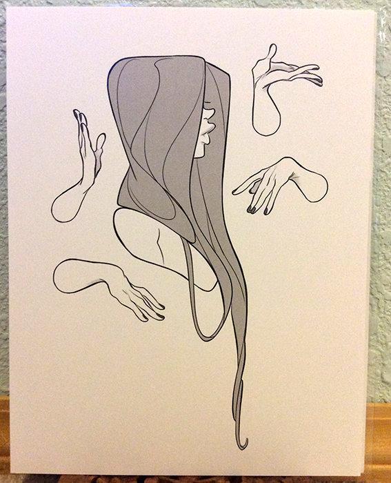 8x11 Print: Tactile