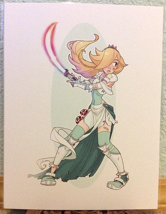 8x11 Print: Princess Trio- Rosalina Warrior (LAST ONE)