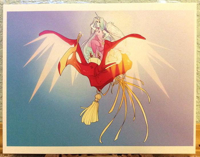 8x11 Print: MLP- Celestia Machina Maw