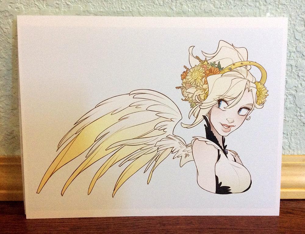 8x11 Print: Mercy