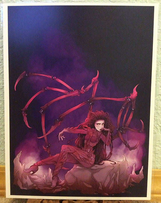 8x11 Print: Queen of Blades