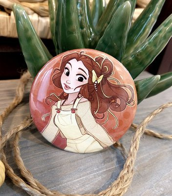 Button: Raver Belle