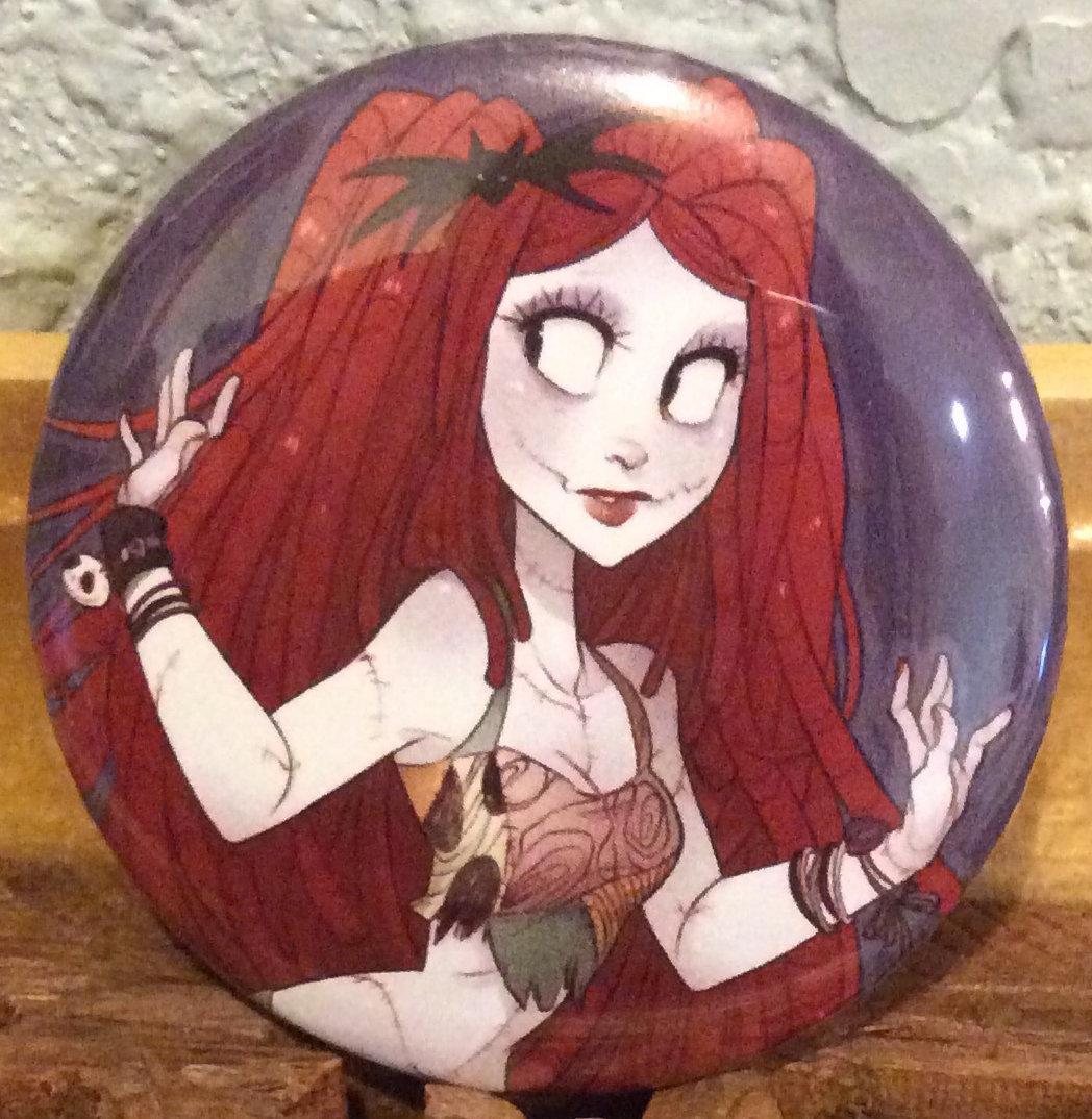Button: Raver Sally
