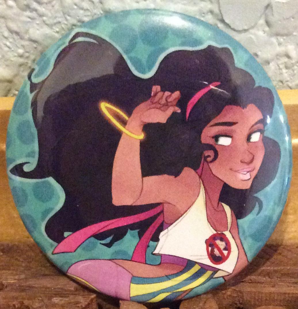 Button: Raver Esmeralda