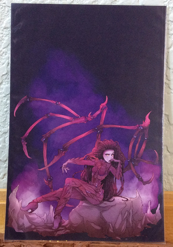 4x6 Print: Queen of Blades