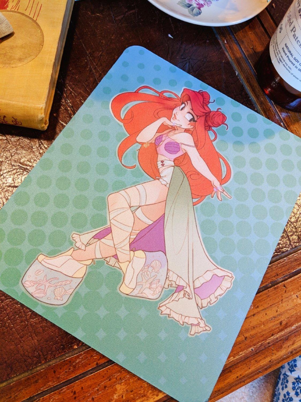 Mouse Pad: Raver Ariel