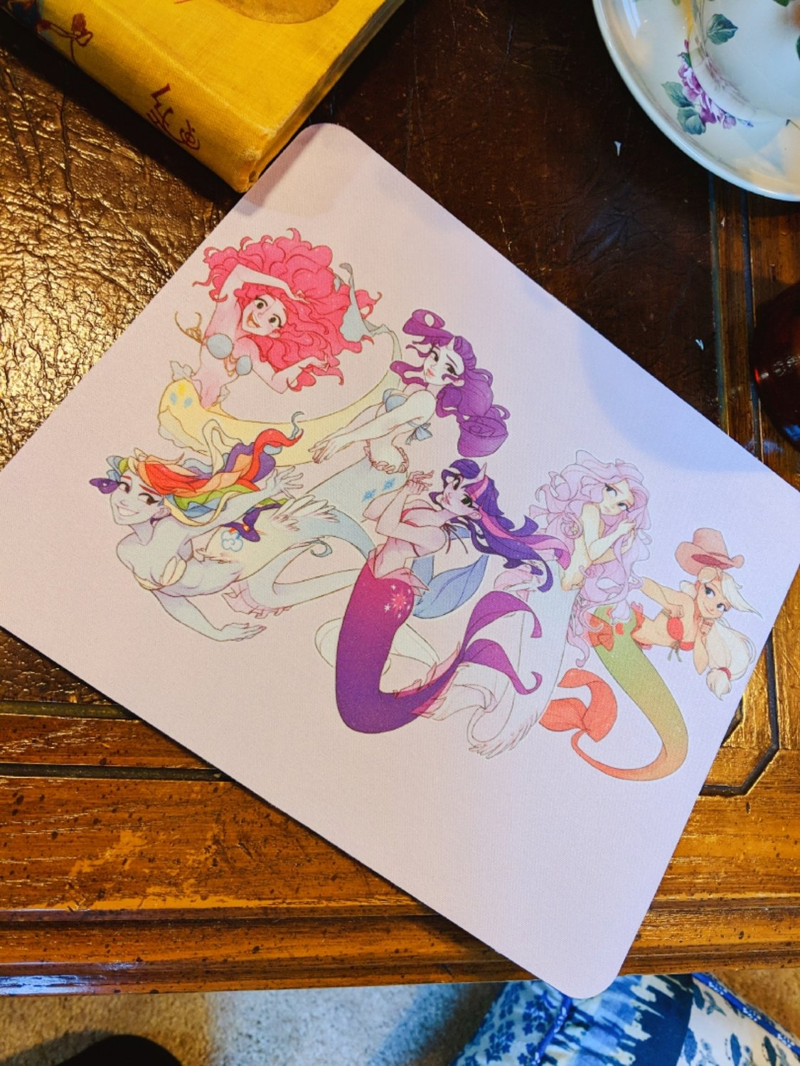 Mouse Pad: MLP Mermaids