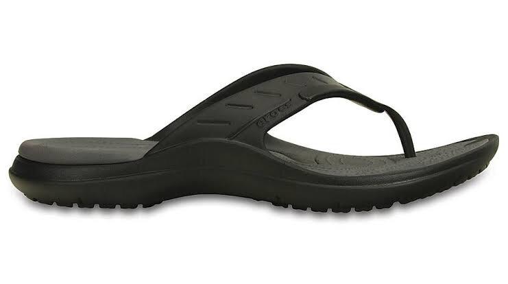 d5c1b7d02 Crocs Modi Sport Flip - Black Graphite