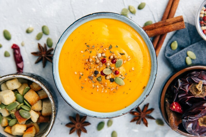 Cinnamon Sweet Potato Soup (1 Qrt serves 4)