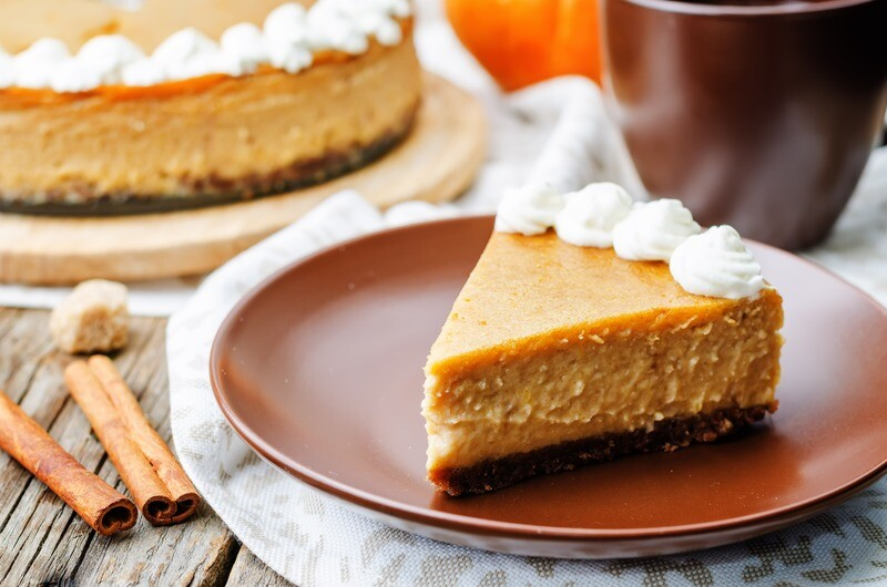 XL Pumpkin Cheesecake (serves up to 16)