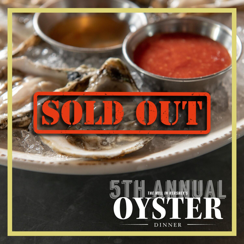 2020 Oyster Dinner Tickets
