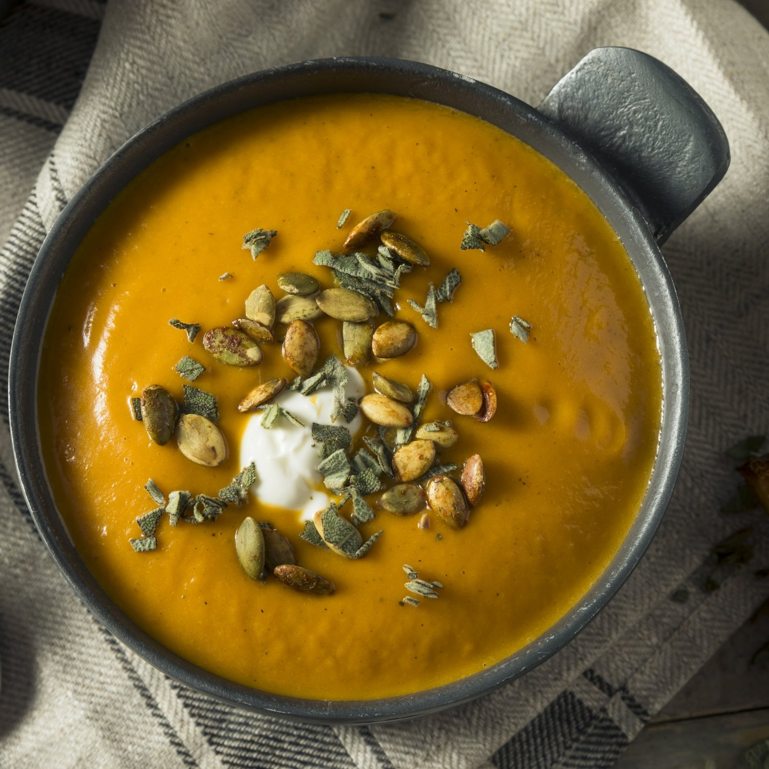 Butternut Squash Bisque (Serves 4-6)