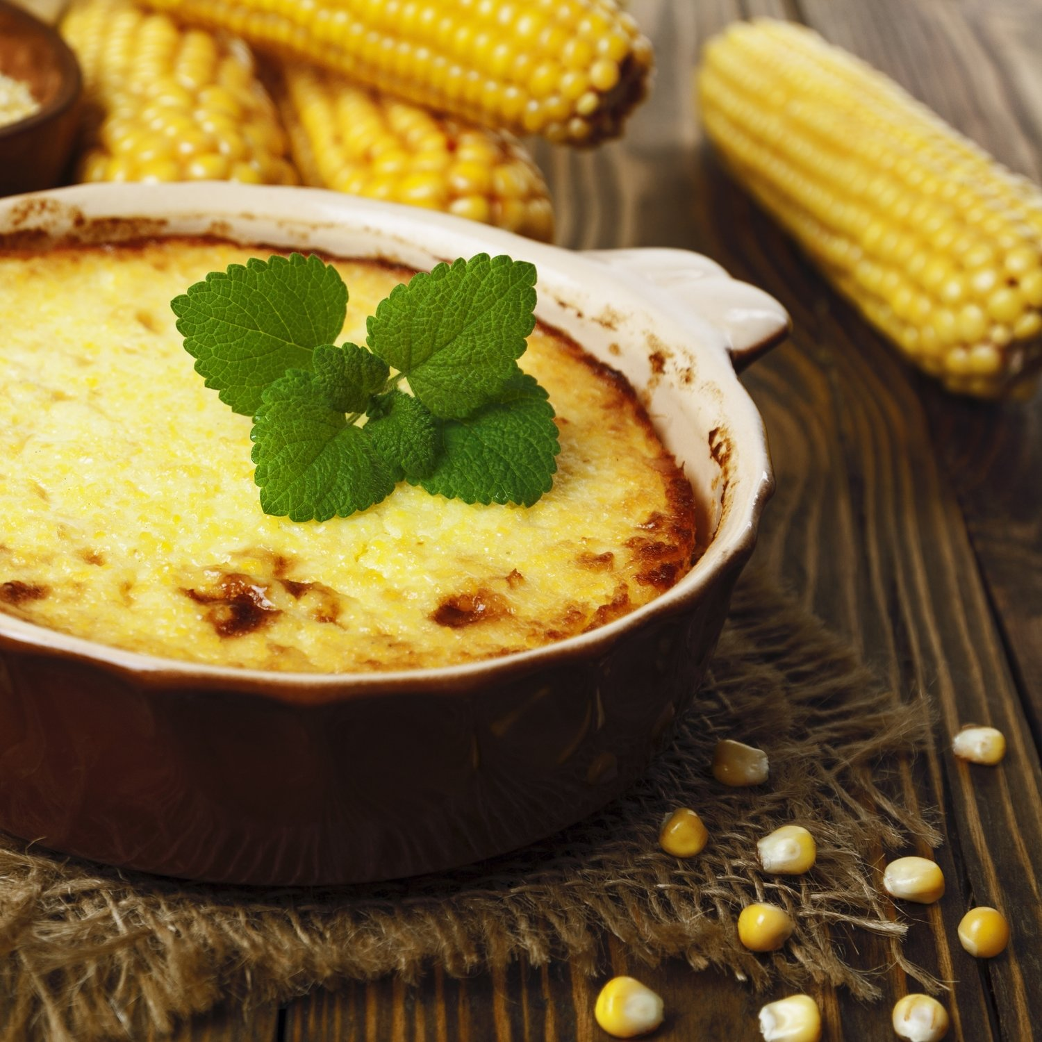 Baked Corn (Serves 12-15)