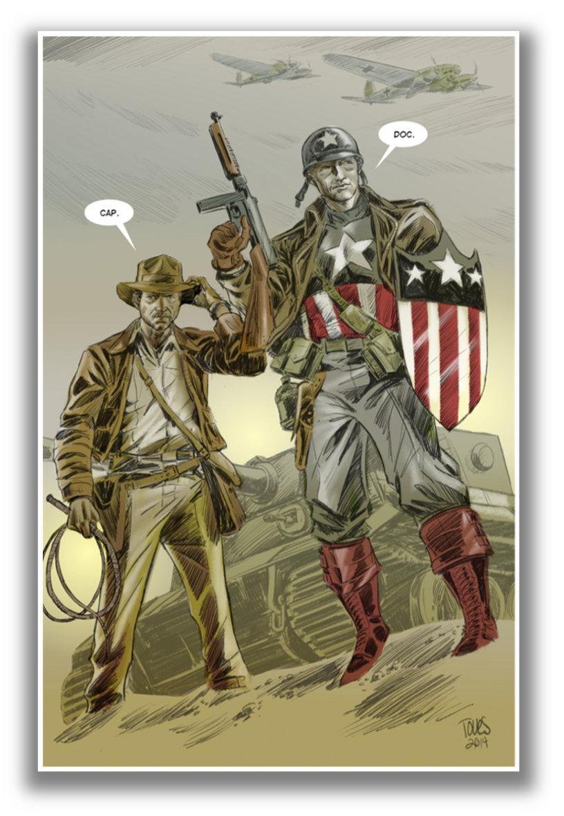 Indy, Cap Print