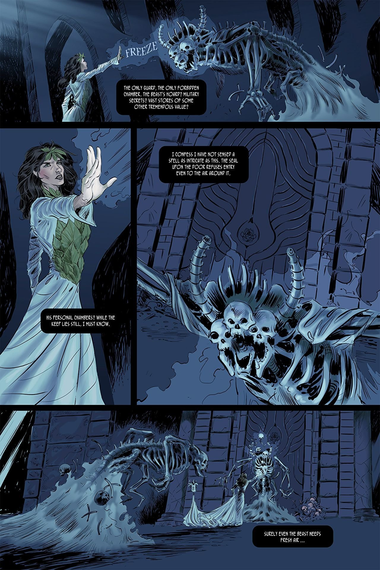 Pages of Eight #3