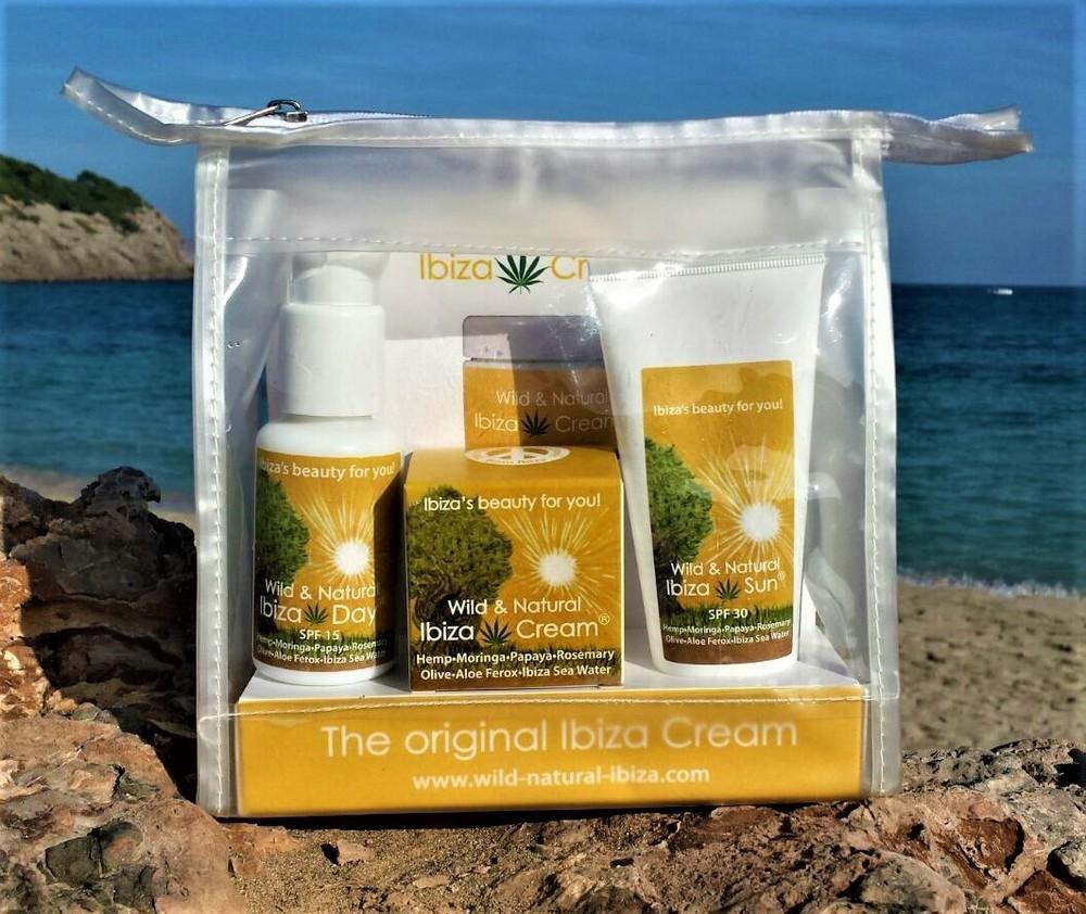 Ibiza Cream® SET:  IBIZA CREAM 30ml, IBIZA DAY 50ml, IBIZA SUN 100ml - 115,00 €