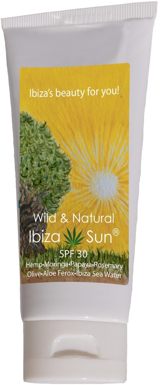 IBIZA SUN with Hemp-Moringa-Papaya-Rosemary-Olive-Aloe Ferox-Ibiza Sea Water 100 ml