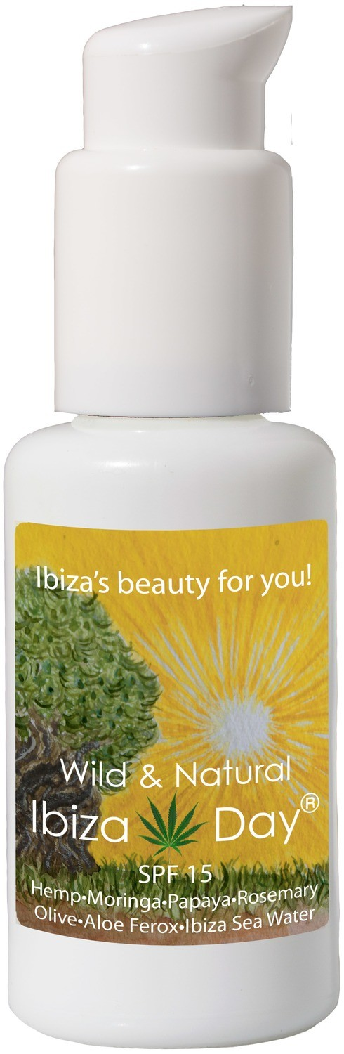IBIZA DAY with Hemp-Moringa-Papaya-Rosemary-Olive-​Aloe Ferox-Ibiza Sea Water 50 ml