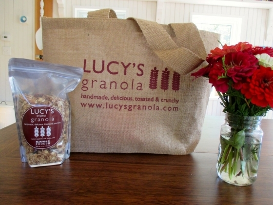 Lucy's Granola Shopping Bag 51