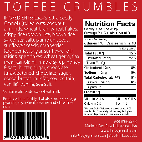 Toffee Crumbles