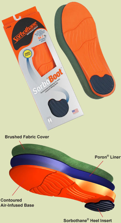 Sorbo® Boot™ Performance Insole SORB001