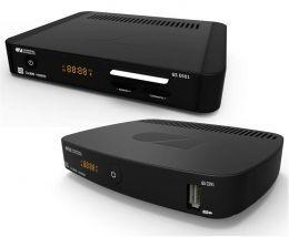 Один комплект на 2 ТВ Система для приема цифрового спутникового телевидения GS E501/C591